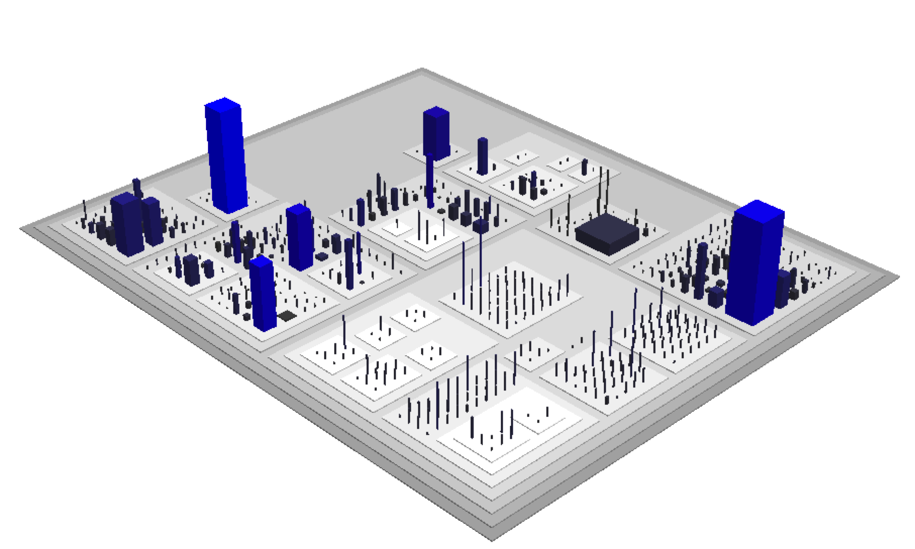 Code City - visualizing code as cities